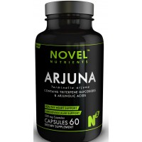 Novel Nutrients ARJUNA 500mg Capsules (60)