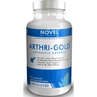 Novel Nutrients ARTHRI GOLD 500 mg, 60 Capsules - Arthritis Support