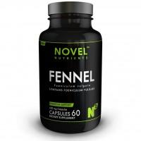 Novel Nutrients Fennel (Foeniculum vulgare) 450 mg 60 Capsules