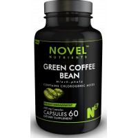 Novel Nutrients GREEN COFFEE BEAN 500 mg 60 Capsules - Weight Management