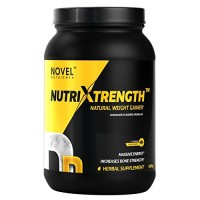 NOVEL NUTRIENTS HERBAL WEIGHT GAINER -NUTRIXTRENGTH CHOCOLATE FLAVOURED GRANULES
