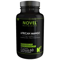 Novel Nutrients African Mango- Irvingia Gabonensis Capsules 400 mg- 60 in Pack