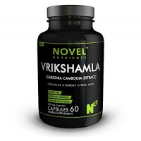 Novel Nutrients Vrikshamala (Garcinia Cambogia) Capsules 500 mg- 60 in Pack