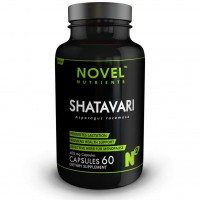 Novel Nutrients Shatavari 400 mg 60 Capsule