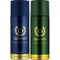 Denver Hamilton and Pride Deo Combo, 165ml (Pack of 2)