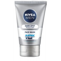 Nivea Men Dark Spot Reduction Face Wash (10X whitening), 100gm