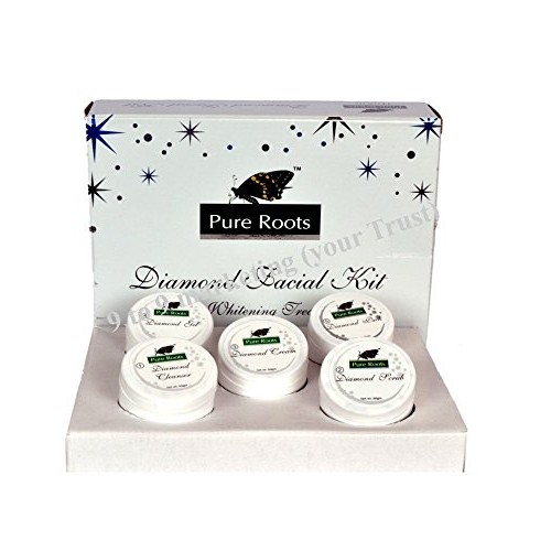 Pure Roots Diomond Facial Kit 300Gm