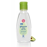 Johnson's Baby Hair Oil with Avocado and Pro-Vitamin B5, 60ml, Pack of 3