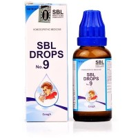 SBL Drops No 9 For Cough (30ml)