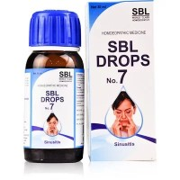SBL Drops No 7 Sinusitis (30ml)