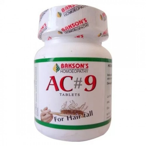 Bakson AC 9 Tablets (Hair Falling) (75tab)