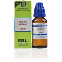 SBL Aconite Napellus 200 CH (30ml)