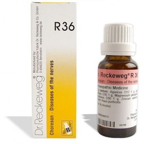 Dr. Reckeweg R36 (Choresan) Drops (22ml)