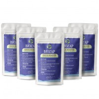 Biozap Odour Remover Pack Of 5 (50 gm each) - Compost Odour Remover