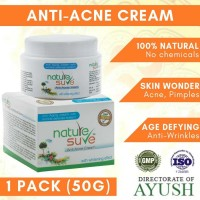 Nature Sure™ Anti-acne Cream With Wrinkle Defense & Skin Whitening System 50g