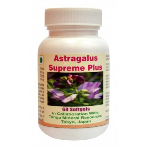 tonga Herbs Astragalus Supreme Plus Softgel - 60 Softgels