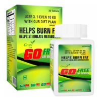 GoFree Green Tea Fat Burner 15 Day Trial Pack 30 Capsules