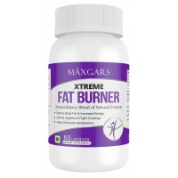 Maxgars Xtreme Fat Burner 100% Results With No Side Effects, 60 Capsules
