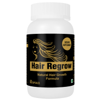 Hair Regrow Natural Solution To All Hair Problems Hair Growth Formula 60 Capsules