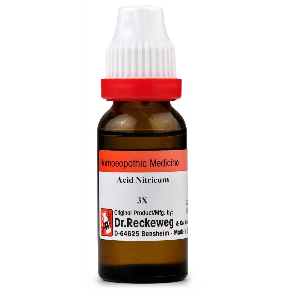 Buy Dr  Reckeweg Acid Nitricum 3X Dilution | ShopHealthy in
