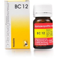 Dr. Reckeweg Bio-Combination 12 (BC 12) Tablet 20gm
