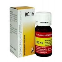 Dr. Reckeweg Bio-Combination 15 (BC 15) Tablet 20gm
