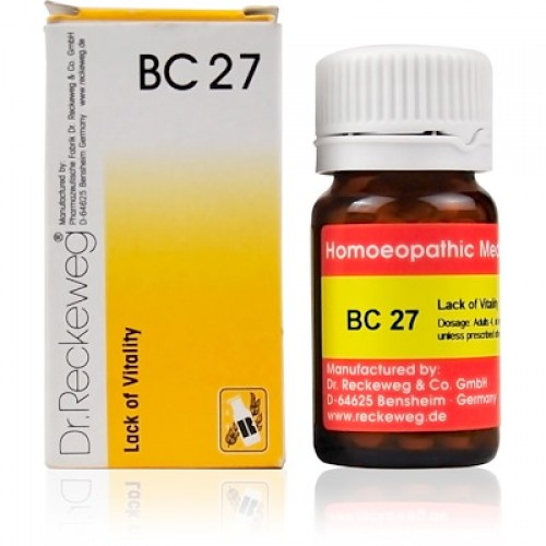 Dr. Reckeweg Bio-Combination 27 (BC 27) Tablet 20gm