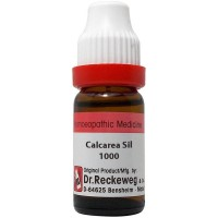 Dr. Reckeweg Calcarea Silicate 1000 CH (11ml) : Acne, eye complaints, coryza, sinusitis, weakness, less weight