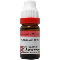 Dr. Reckeweg Carcinosin 10M CH (11ml) : Enlarged mammary glands, infections, gases, Ovarian cysts