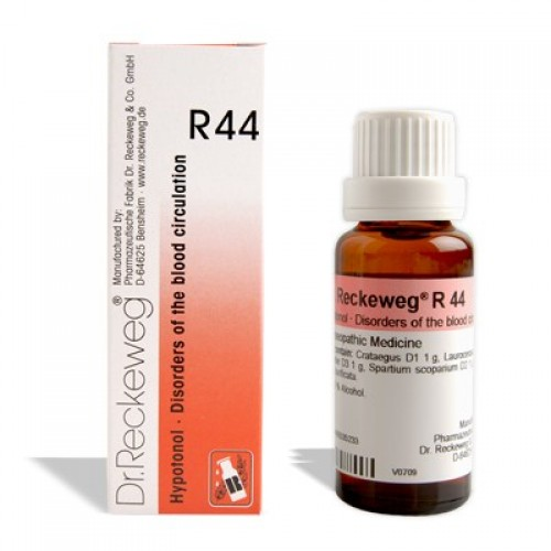 Dr. Reckeweg R44 Disorders Of The Blood Circulation Drops 22ml