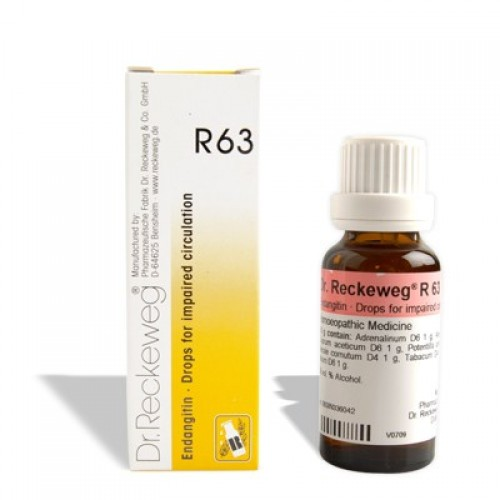 Dr. Reckeweg R63 Impaired Circulation Drops 22ml