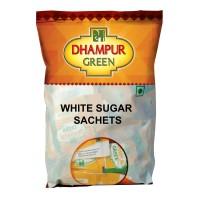 Dhampur Green White Sugar Sachets 500gm