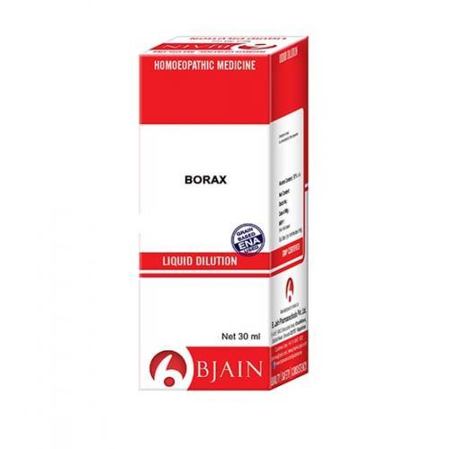 Bjain Borax Dilution Potency 30 CH 10ml