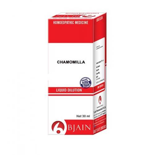 Bjain Chamomilla Dilution Potency 6 CH 10ml