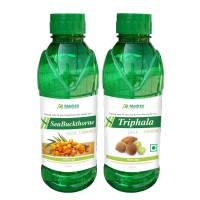 Madren Healthcare Seabuckthrone & Triphala Juice 500ml (combo Pack)