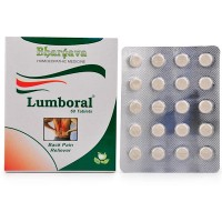 Dr. Bhargava Lumboral Tablet (60tab) - Relieves Joint pains, Back Pain, Sprains, Muscular Stiffness, Nerve pains