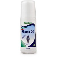 Dr. Bhargava Rhomo Oil Roll On (60ml)-For Sprains, Stiffness of Muscles, Swellings, Pains, Sciatica, Joint pain