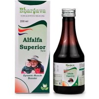 Dr. Bhargava Alfalfa superior tonic (200ml)-Nutrient Tonic, Energy Booster, Tones Up Appetite, Removes Weakness