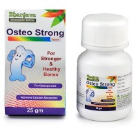 Dr. Bhargava Osteo Strong Tablets (25g)-Strengthens Bones, lowers the Risk of Fracture, Improves Bone Density