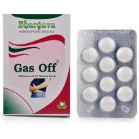 Dr. Bhargava Gas Off Tablet (30tab) - Relieves Indigestion, Acidity, Gastritis, Flatulence, Constipation