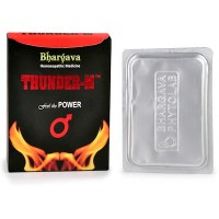 Dr. Bhargava Thunder M Tablet (30tab) - For Males in erectile dysfunction, premature ejaculation, stamina