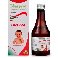 Dr. Bhargava Gripva forte Tonic (200ml)For Teething Troubles, Indigestion, Flatulence, Builds Appetite