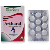 Dr. Bhargava Artharal Tablets (30tab)- Decreases Swelling, Stiffness, Pain in Joints, useful in Gout and Uric Acid
