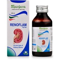 Dr. Bhargava Renoflam Syrup (100ml)-For Renal Calculi, Colic pain, Urinary Tract Infections, burning urine
