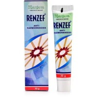 Dr. Bhargava Renzef Cream (30g)-Useful in Painful or Bleeding Piles, Fissures, Constipation