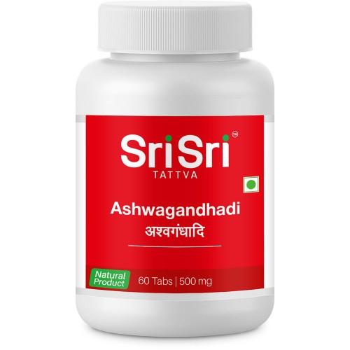 Sri Sri Tattva Ashwagandhadi Tablet, 60Tab