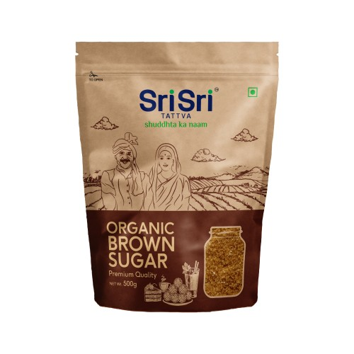 Sri Sri Tattva Organic Brown Sugar, 500g