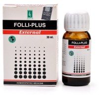 Adven Folli Plus External Drops (30ml) : Reduces Hair Thinning & hairfall, Dandruff, Scalp Dryness, Baldness