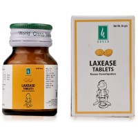 Adven Laxease Tablet (25g) : Helps in difficult passage of Hard Stools, Stomach Colic, Gas, laxative