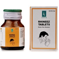 Adven Rhineez Tablet (25g) : Relieves complaints of Sneezing, watering eyes, Obstructed nose, headache